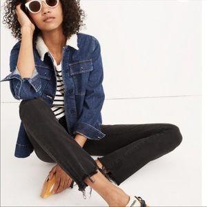 Madewell Cali Demi Boot High Waisted Denim Jeans